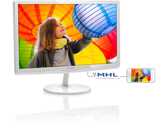 "Монитор Philips 21.5"" LED-backlit LCD monitor 1920x1080 FullHD 16:9 5ms 250cd"