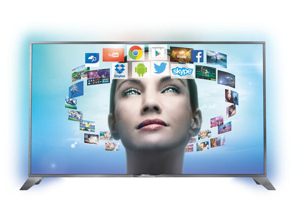 "Телевизор Philips 55"" Ultra HD"