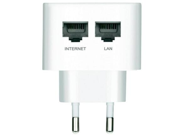 Рутер D-Link D-Link Wireless N 300 Easy Wall-Plug Router - 2