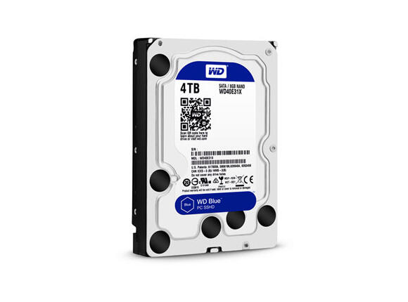 "Твърд диск SSHD 4TB + 8GB WD Blue SSHD 3.5"" SATAIII 64MB (3 years warranty)"