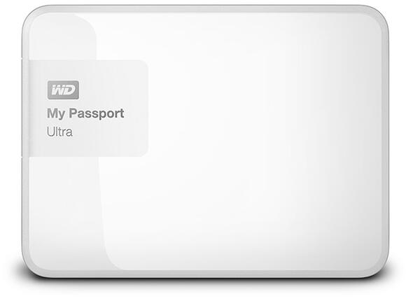 Твърд диск HDD 3TB USB 3.0 MyPassport Ultra Brilliant White (3 years warranty) NEW