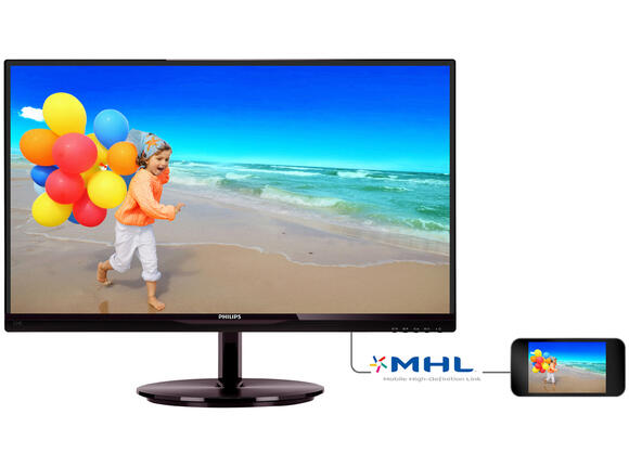 "Монитор Philips 23"" IPS Slim LED 1920x1080 FullHD 16:9 5ms 250cd"