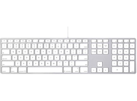 Клавиатура Apple Keyboard with Numeric Keypad BG - 3