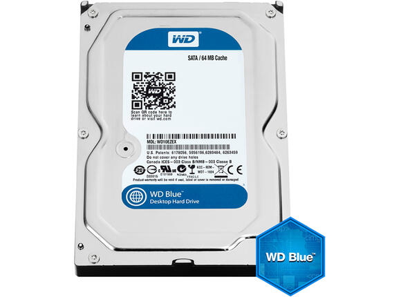 "Твърд диск HDD 4TB WD Blue 3.5"" SATAIII 64MB (2 years warranty)"