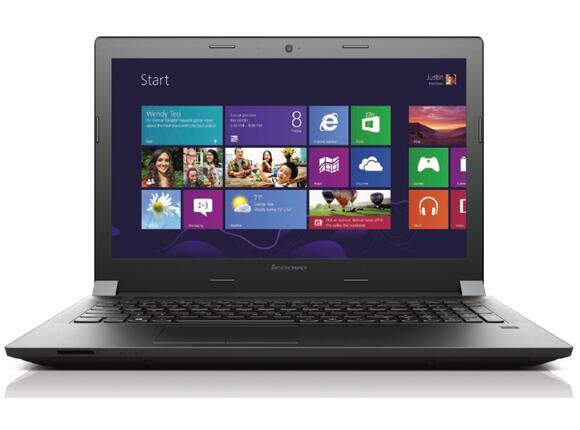 Лаптоп Lenovo IdeaPad B50 Black - 7