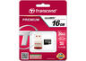 Флаш карта Transcend 16GB micro SDHC (with reader - Class 10) - 1