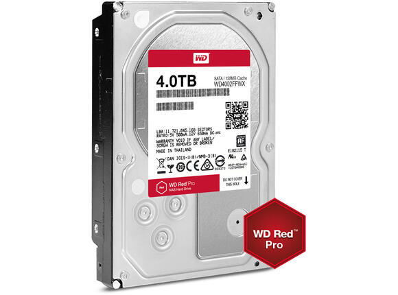 Твърд диск HDD 4TB SATAIII WD Red PRO 7200rpm 128MB for NAS and Servers (5 years warranty) - 3