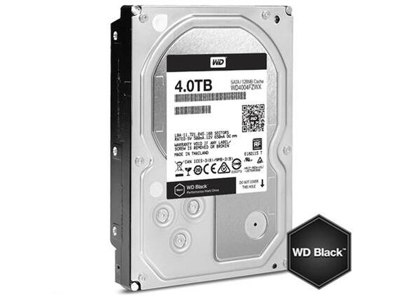 "Твърд диск HDD 4TB WD Black 3.5"" SATAIII 128MB 7200rpm (5 years warranty)"