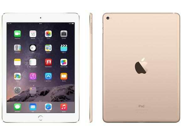 Таблет Apple iPad Air 2 Wi-Fi 128GB - Gold - 2