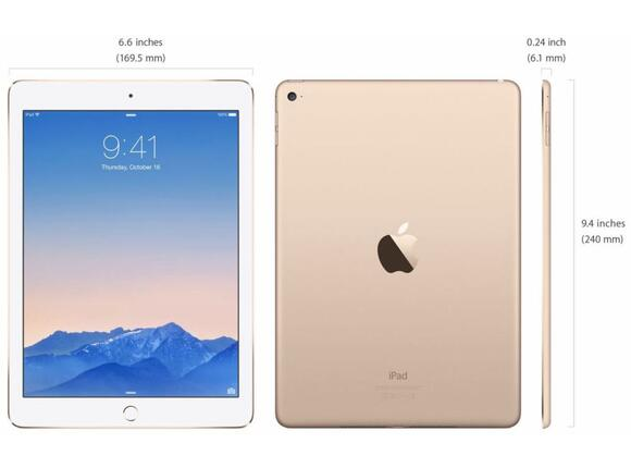 Таблет Apple 12.9-inch iPad Pro Wi-Fi 32GB - Gold - 2