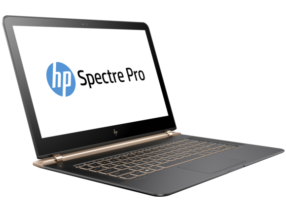 "Лаптоп Лаптоп HP Spectre Pro 13 G1 Notebook PC, i5-6200U, 13.3"", 8GB, 256GB, Win 10 - 4"
