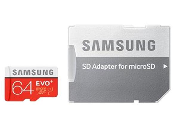 Флаш карта Samsung 64GB micro SD Card EVO+ with Adapter - 4