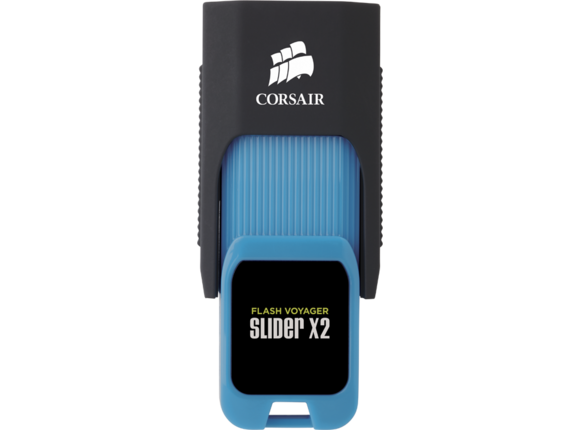 Флаш памет Corsair Flash Voyager® Slider X2 USB 3.0 32GB USB Drive - 5