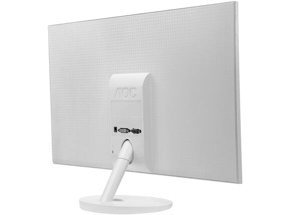 "Монитор AOC Монитор AOC 24"" LED 1920x1080 16:9 250cd 50M:1 2msGTG  Headphone out, VGA, DVI-D, HDMI, TCO 6.0, White, 3 years - 2"